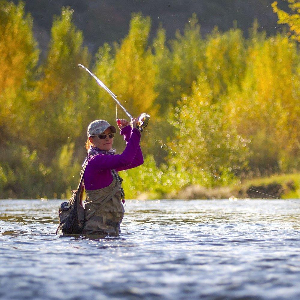 Utah Provo River Women Fly Fishing