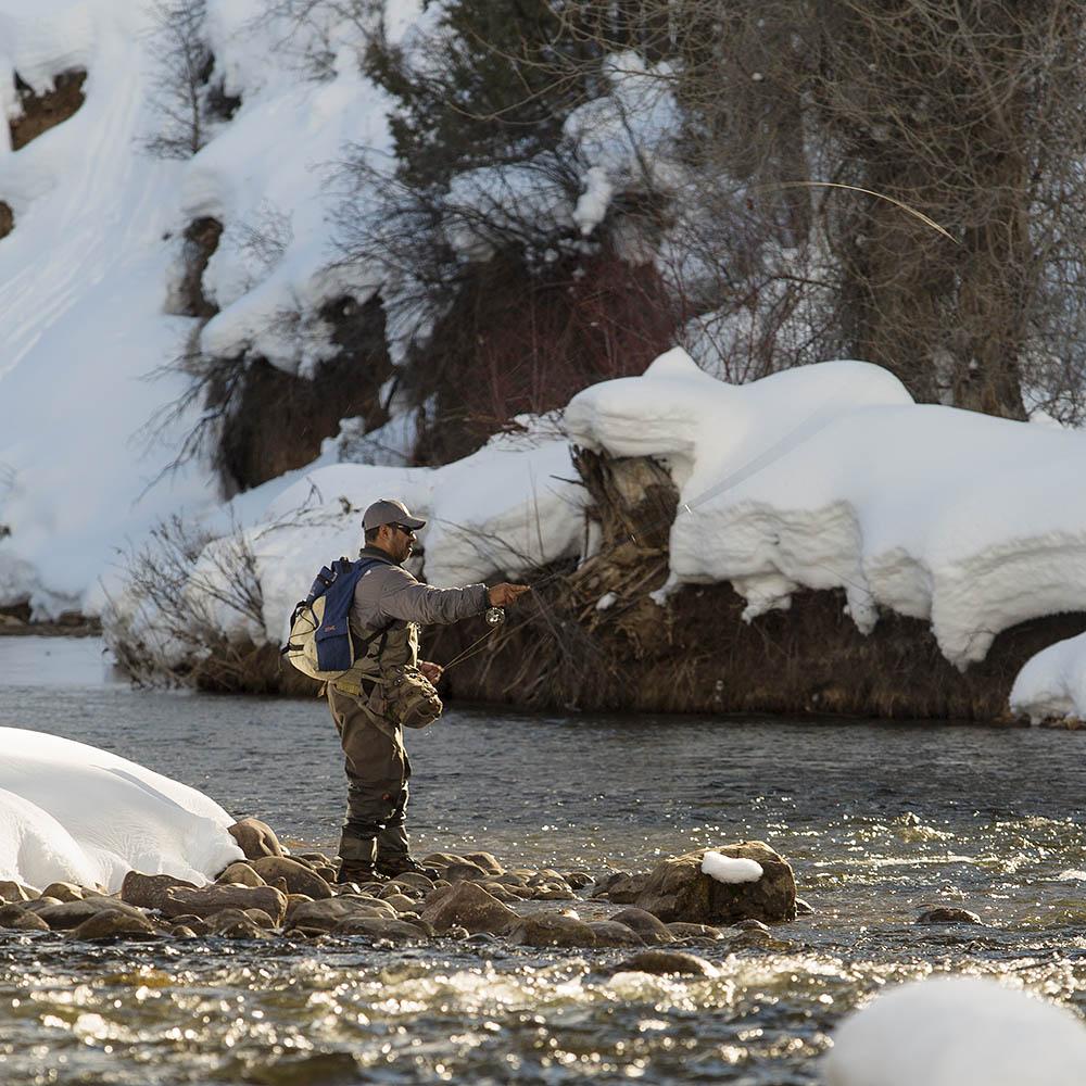 Utah Provo River Winter Fly Fishing